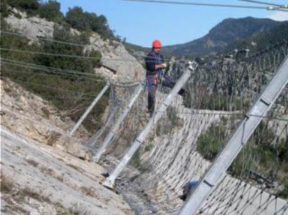 Barriers Rockfall Protection